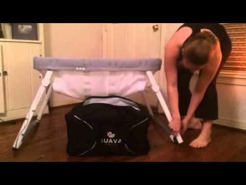Lotus Bassinet by Guava Family - how to take down and pack your bassinet