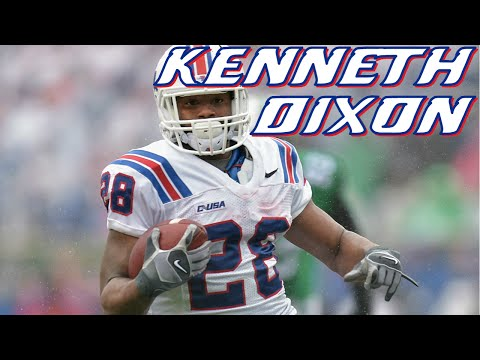 Kenneth Dixon vs Oklahoma 2014