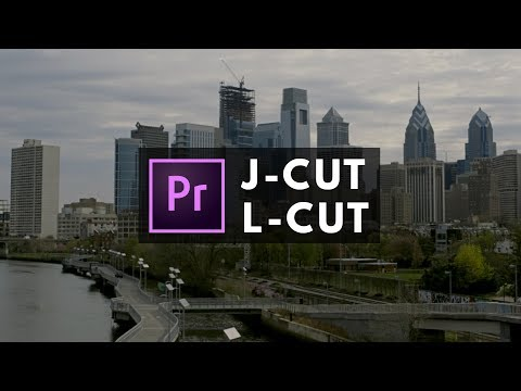 How To Edit Video With The J-Cut And L-Cut In Premiere Pro (MUST KNOW)