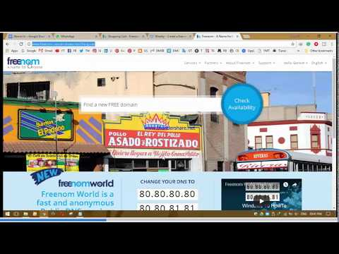 how to get free domain for websites 2017