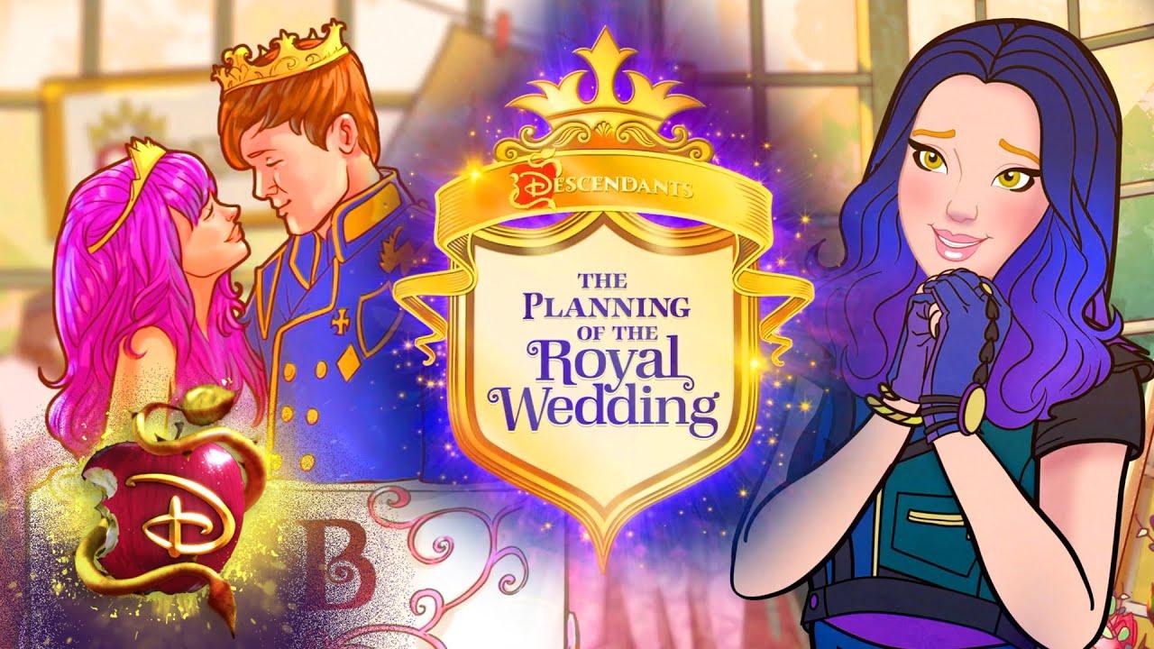 Download Ben and Mal's Royal Wedding Preparation 👰| Compilation | Descendants