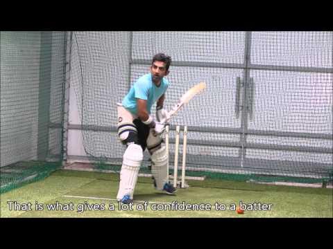 Gautam Gambhir Quality Practice with Spingball