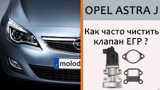 Стоит ли чистить ЕГР на Opel?