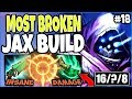 MOST BROKEN JAX SEASON 9 BUILD 🔥 How to Play and CARRY as TOP LANE JAX 🔥 Bronze to Diamond Ep #18