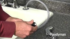 How to Repair a Sink Sprayer