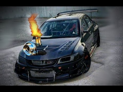 MITSUBISHI EVO BIG TURBO EXHAUST SOUNDS 4G63 4B11