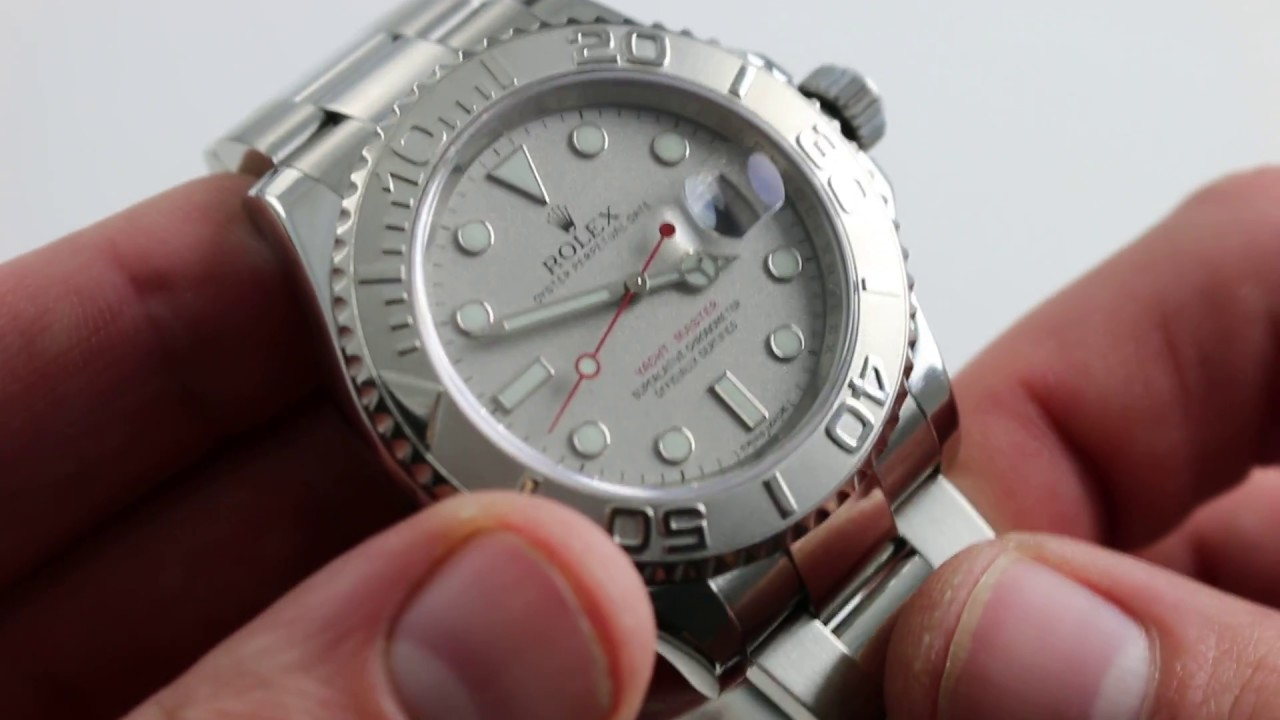Rolex Oyster Perpetual Yacht,Master 40 Ref. 116622 Watch Review