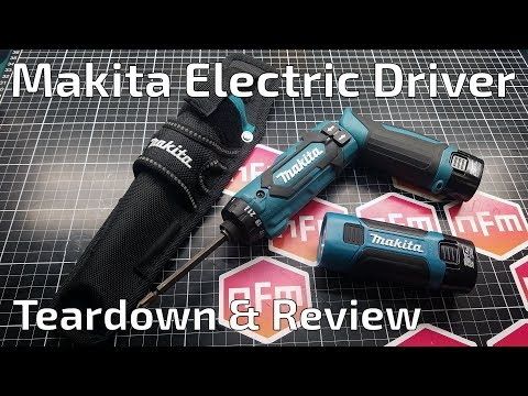 Makita DF012D Electric Screwdriver Review