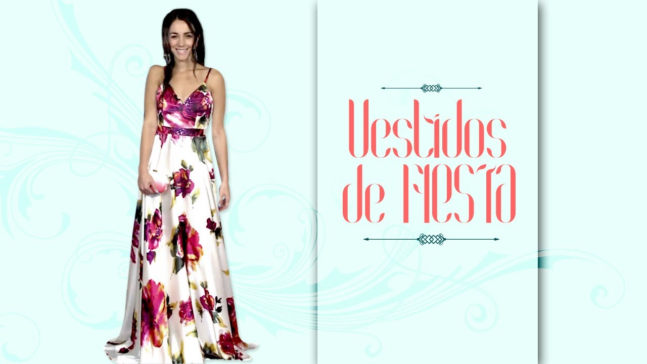 Vestidos para fiesta super elegantes dress code youtube for Boda en jardin como vestir