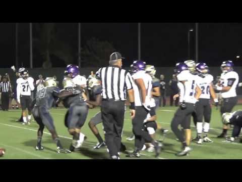 St John Bosco Quentin Davis Touchdown