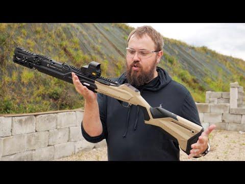 Умное ружье Калашников ULTIMA и дробь-тест