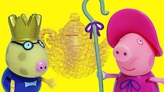 Свинка Пеппа Игровой набор Чайная вечеринка Обзор игрушки Мультик для детей