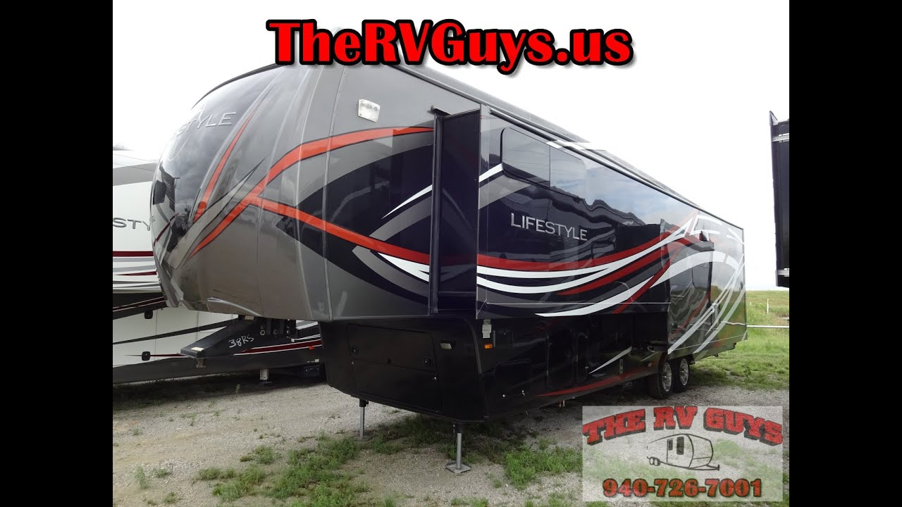 Lifestyle 5Th Wheel >> Stunning Full Wall Slide Full Time Friendly 5th Wheel! 2016 Lifestyles 37CKSL - YouTube