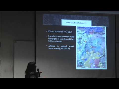 Tephra Conference 2014 - Case Study of Alberca de Guadalupe Maar and Tuff Ring Complex