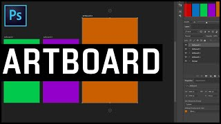 How to use Artboard in Photoshop CC 2018 | Photoshop Tutorial in Tamil