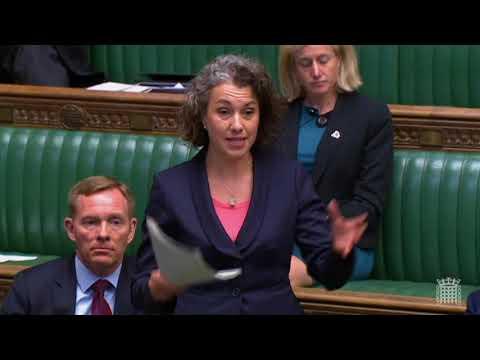 Sarah Champion MP asks a question about Rotherham CSE