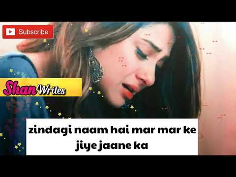 WhatsApp Status 💚 Old Sad Song ❤ Pyar jhutha Sahi (Part 2) 💙Shan Writes