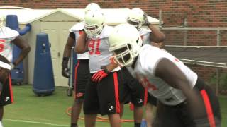 Oklahoma State Opens Training Camp (8.2.13)