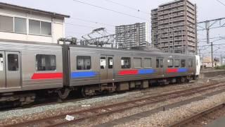 811系(P10編成 4両) 普通博多行 鳥栖駅発車