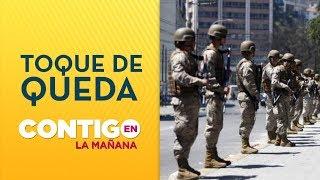 Horarios toque de queda en Chile región por región - Contigo en La Mañana
