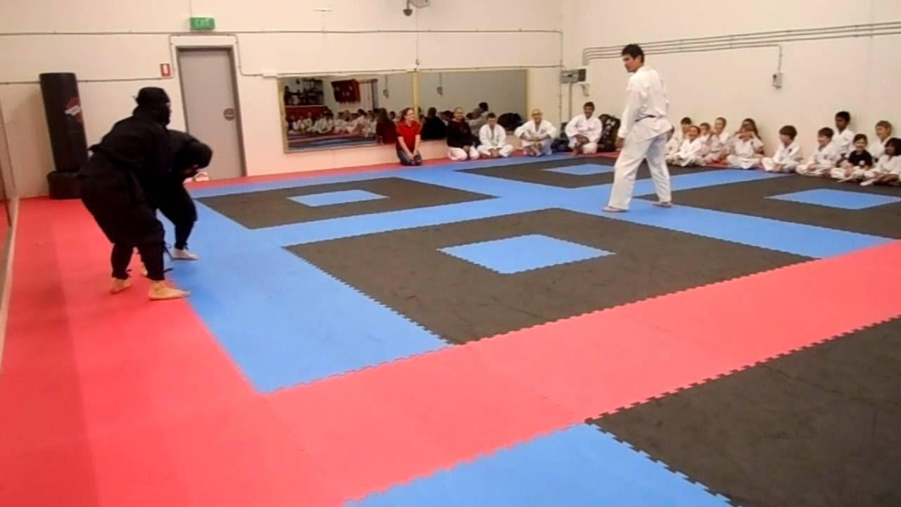 Ninjutsu V/S Karate-Do (I Encuentro Inter-Estilos 2013)
