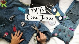 TRANSFORMANDO JEANS – 6 Ideias