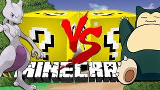 Minecraft: POKEMON LUCKY BLOCK CHALLENGE | Pokemon Battle!!