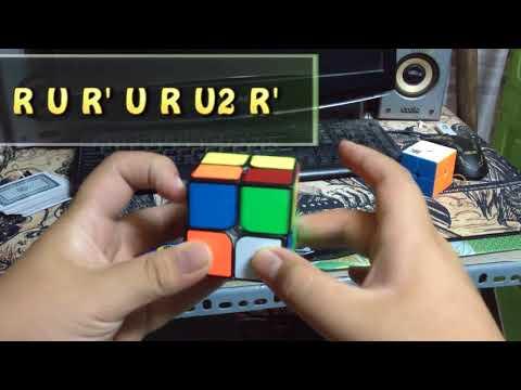 Hướng dẫn giải RUBIK 2x2 đơn giản nhất