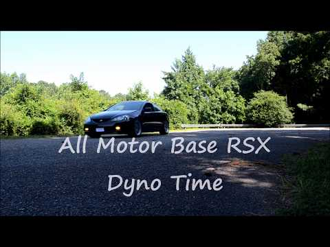 All Motor Base RSX K20A3 Dyno Day