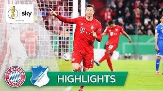 Bayern muss am Ende zittern | Bayern - Hoffenheim 4:3 | Highlights - DFB-Pokal | Achtelfinale
