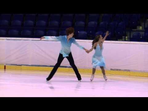 6 Lauren COLLINS  Danny SEYMOUR CAN  ISU JGP Kosice 2013 Junior Ice Dance Free Dance