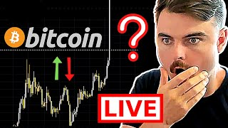 INSANE MOMENT FOR BITCOIN RIGHT NOW!!!!! ⚠️