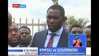 The courts must not be used to oppress workers, says KMPDU SG Oluga Ouma
