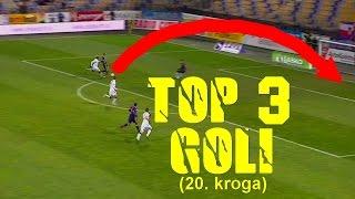 TOP 3 Goli 20.Kroga Prve lige Telekom Slovenije(Rok Kronaveter, Luka Zahovič in Etien Velikonja)