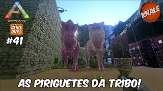 ARK Survival Evolved PVP #41: As T-Rex Piriguetes!