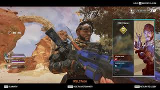 SEASON 2 !! 3rd PERSON (FORTNITE STYLE) APEX LEGENDS !!! WRAITH HACKER ?? Watch it till the end .