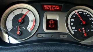 Accélération Renault Clio 3 dCi 105