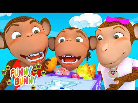 Песня про ланч-бокс - The Lunch Song   Funny Bunny - детские песенки и мультики