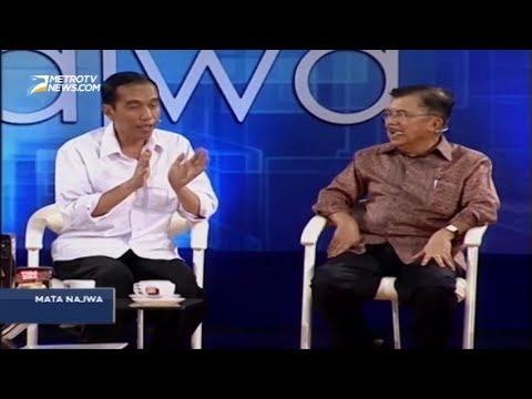 Ketika Jokowi & JK Ditanya Pasangan Sebelum Pilpres 2014 (Mata Najwa)