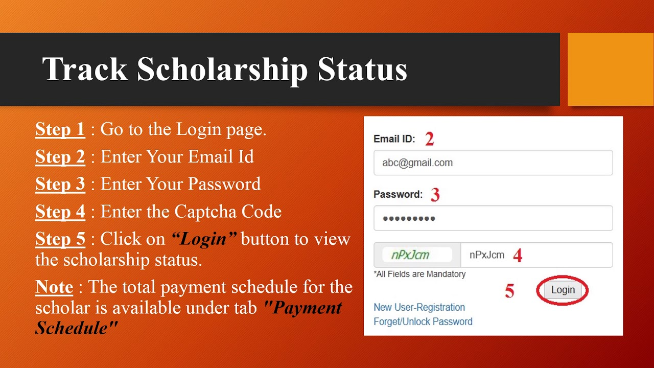 UGC Scholarship Tracking Portal : University Grants Commission – www
