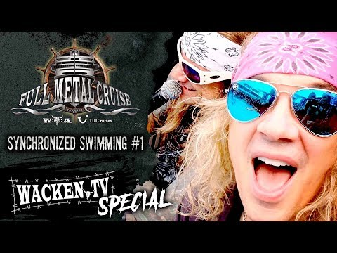 Full Metal Cruise VIII - Steel Panther Judging Synchronized Swimming Contest - #1