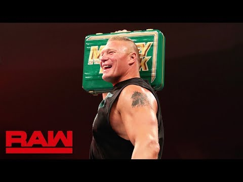 WWE MITB: 3 reasons why Brock Lesnar winning the briefcase is not so bad