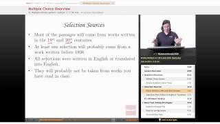 AP English Language & Composition - Multiple Choice Overview