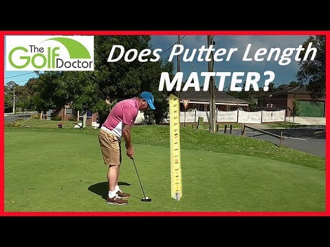 Does Putter Length Matter? - How Long Should My Putter Be?