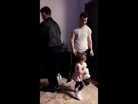 Kevin Jonas, Alena Jonas, Joe Jonas and Cole Whittle's Dance party.
