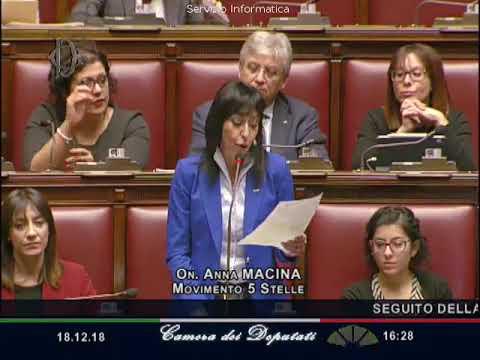 Anna Macina - Esame questioni pregiudiziali della Legge #SpazzaCorrotti