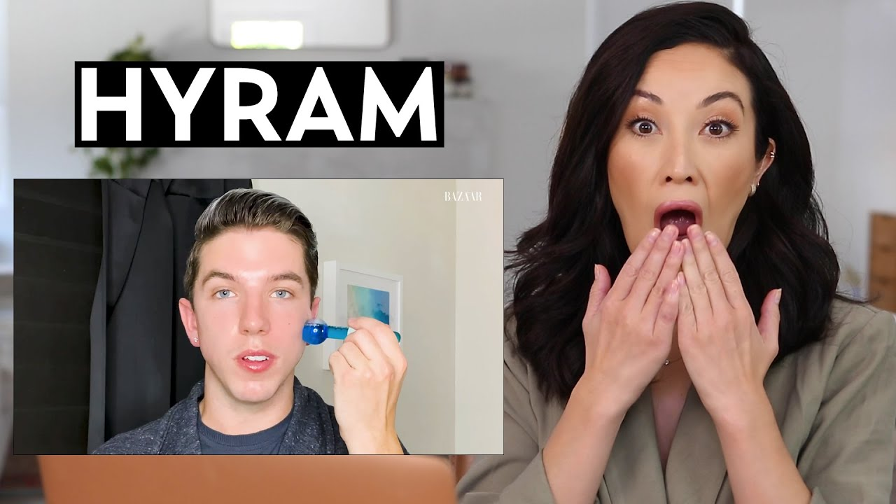@Hyram''s Skincare Routine: My Reaction & Thoughts   #SKINCARE
