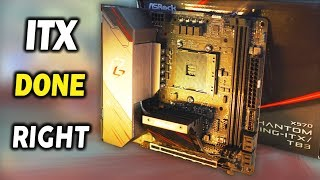 ASRock X570 Phantom Gaming ITX Review - Thunder Bolt 3 on AMD