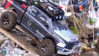 ROCK CRAWLER RC 1/10 SCALE PARCOURS FOR 4x4 VEHICLES