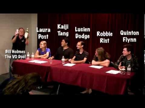 Voiceover Doctor Hosts Animé Panel Q&A